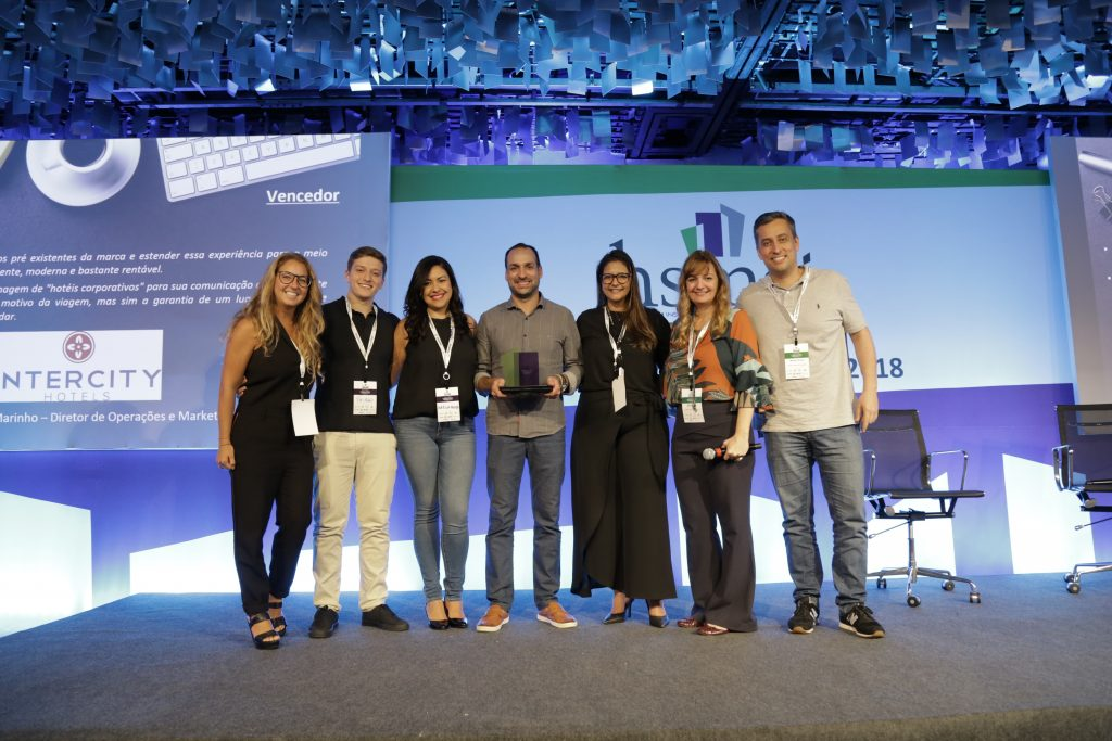 Vencedores do HSMAI AWARDS de Marketing Digital - Intercity (Equipe de Marcelo Marinho)