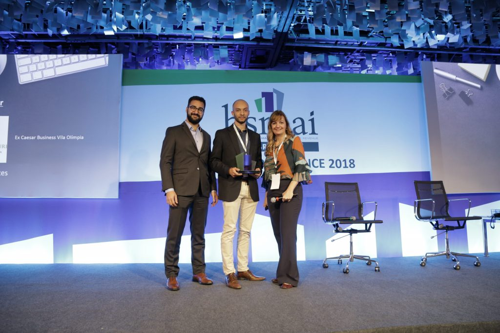 Vencedor HSMAI Award - Revenue Management - Leonardo Fontes - RM Grand Mercure Vila Olímpia