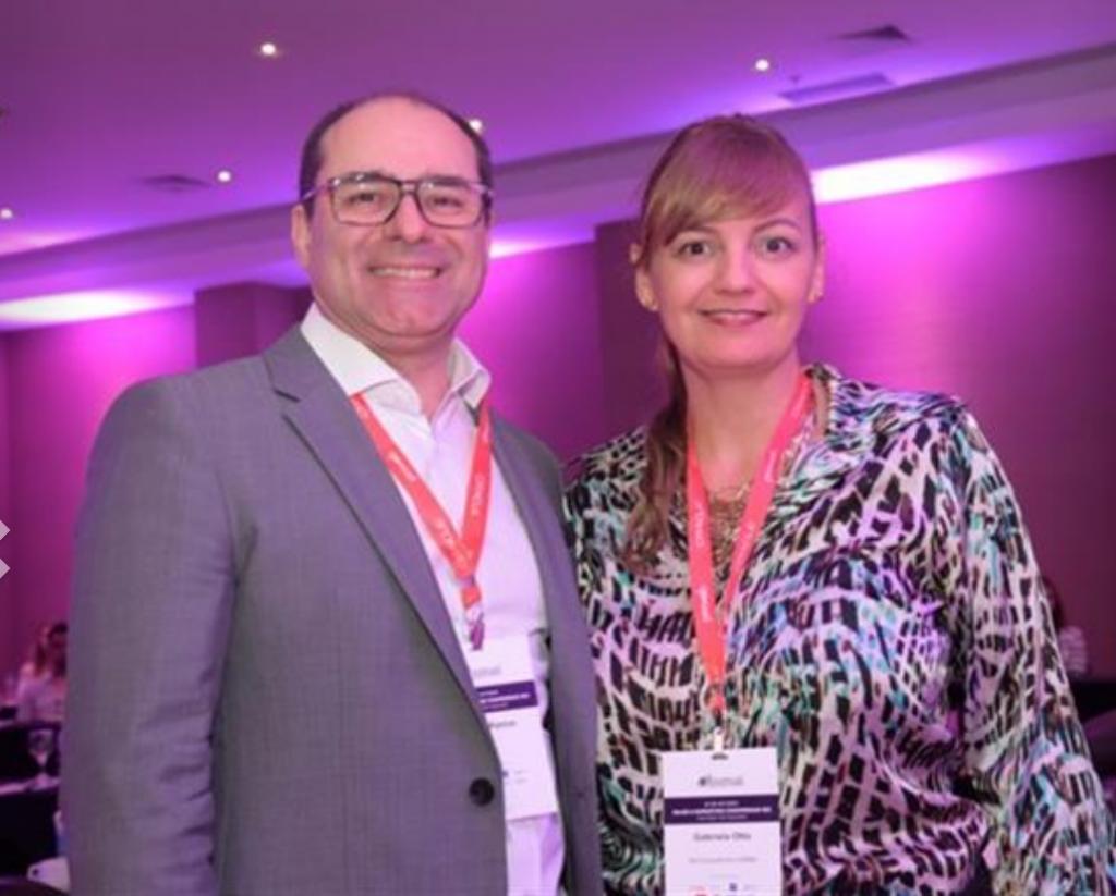 Tomas Ramos (BHG) e Gabriela Otto (HSMAI e GO Consultoria)