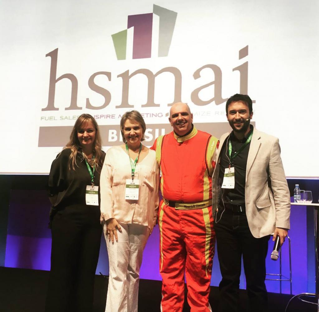 Equipe HSMAI com o Palestrante Maurício Louzada