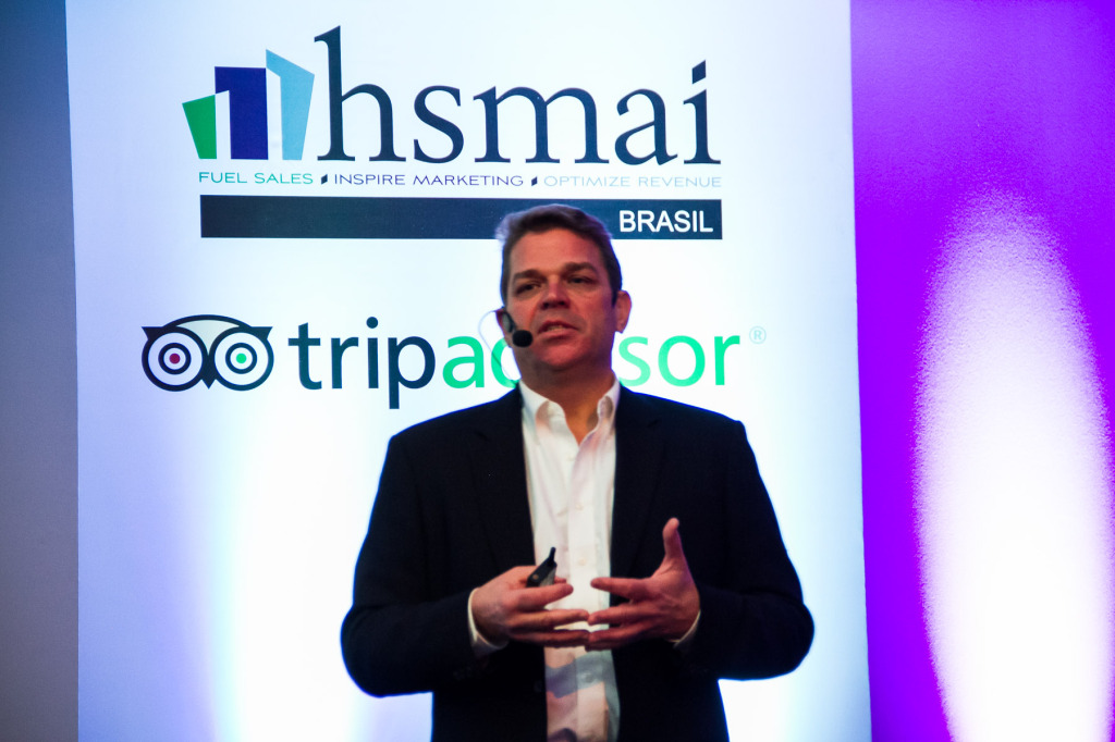 """1ª CONFERENCE – HSMAI Conference: """"As reviews são importantes"""", reforça Brian Payea, do TripAdvisor"""