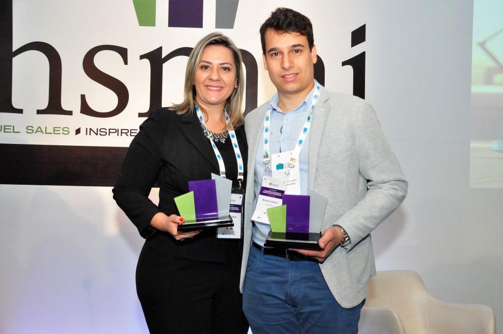 Alguns dos vencedores do HSMAI Awards