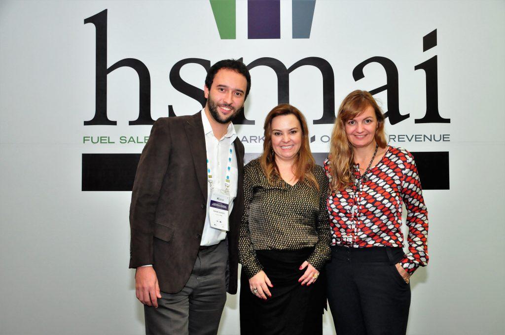 Organizadores: Fernão Loureiro (Philips), Carolina Melo (Cemig) e Gabriela Otto (HSMAI e GO Consutoria)