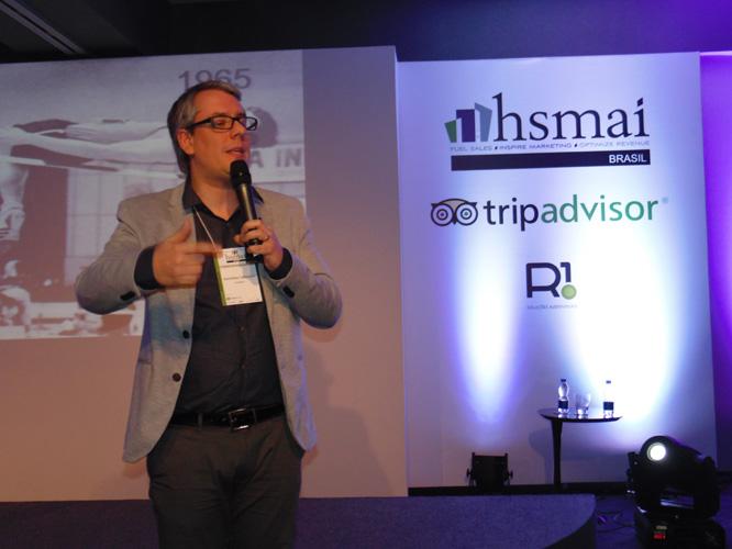 1ª CONFERENCE – HSMAI Conference: palestra sobre inovação encerrou ciclo do evento