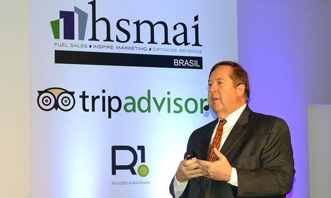 1ª CONFERENCE – CEO da HSMAI foca apresentação no Revenue Management