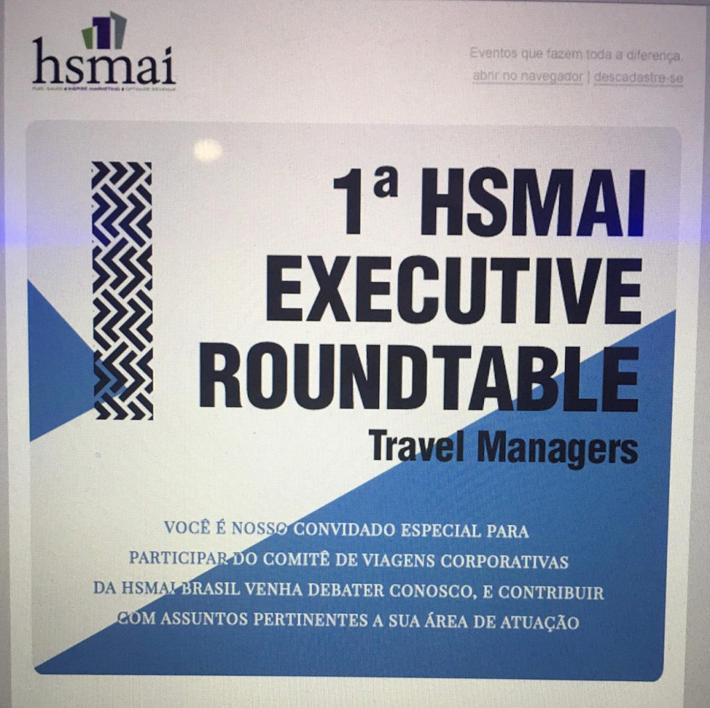 Convite Roundtable Travel Managers
