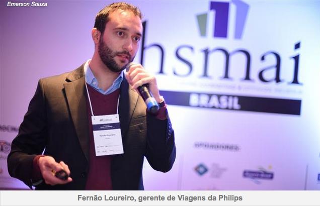 Travel manager da Philips diz o que espera de hotéis