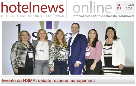 HSMAI debate em evento revenue management