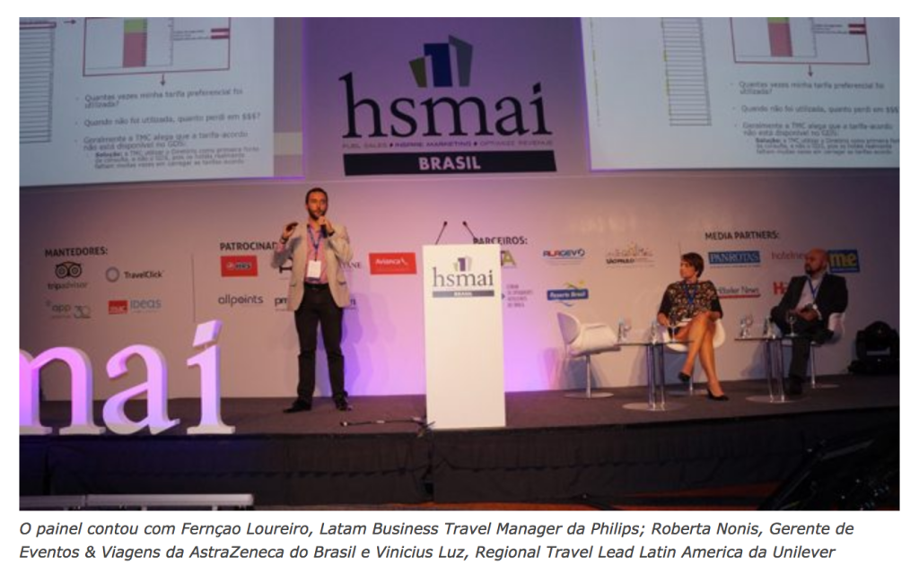 3ª HSMAI Strategy Conference: Travel Managers participam de 'Roda Viva'