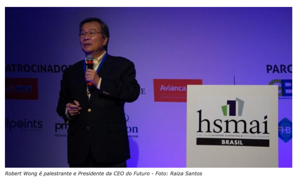 Robert Wong palestra sobre Liderança na 3ª Strategy Conference da HSMAI