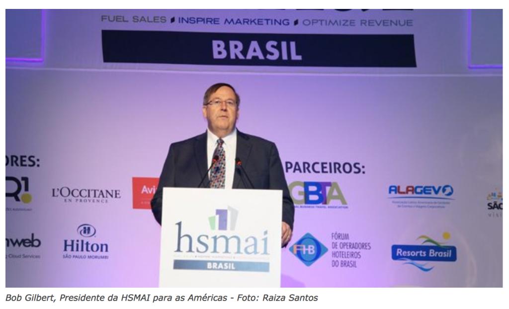 Presidente da HSMAI para as Américas ministra painel sobre Ambiente Digital para Hotelaria