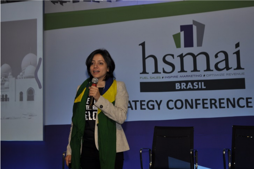 Maha Mamo, ativista política, participa da 5ª HSMAI Strategy Conference