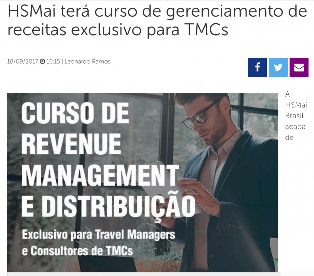 HSMai terá curso de gerenciamento de receitas exclusivo para TMCs