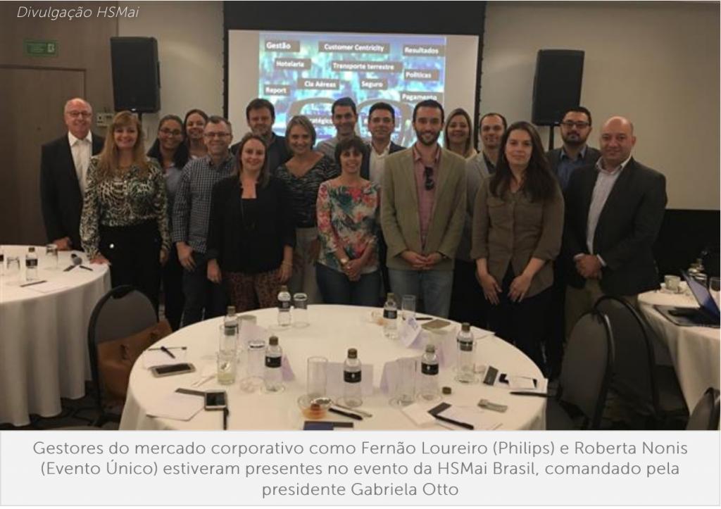 HSMai promove evento para TMCs e gestores, e se estabelece no corporativo