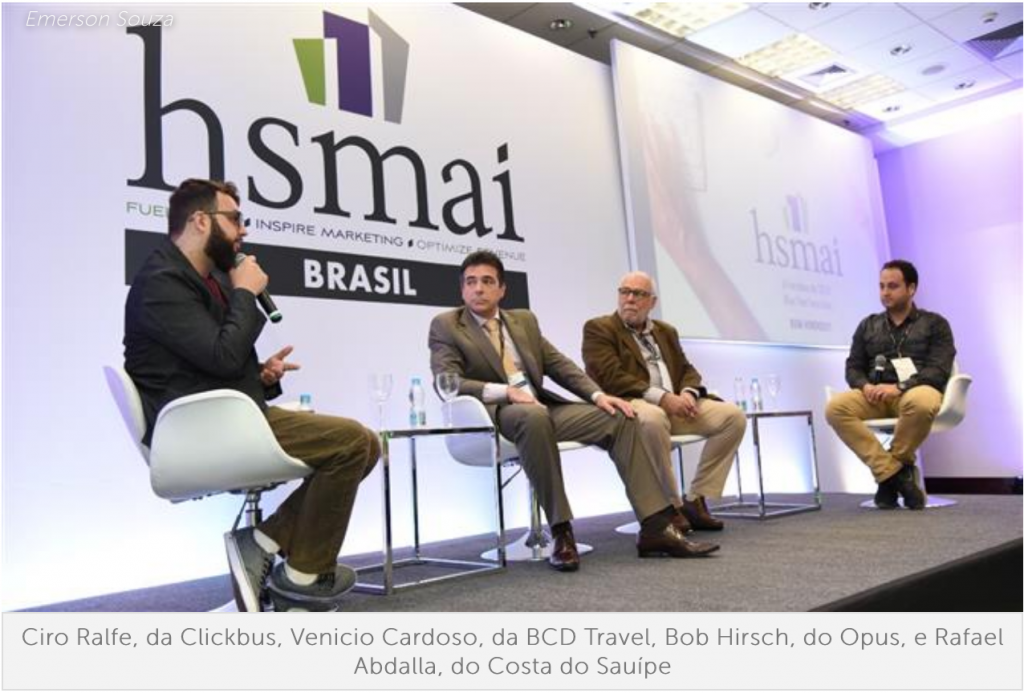 HSMai discute tecnologia e papel do marketing na hotelaria; confira