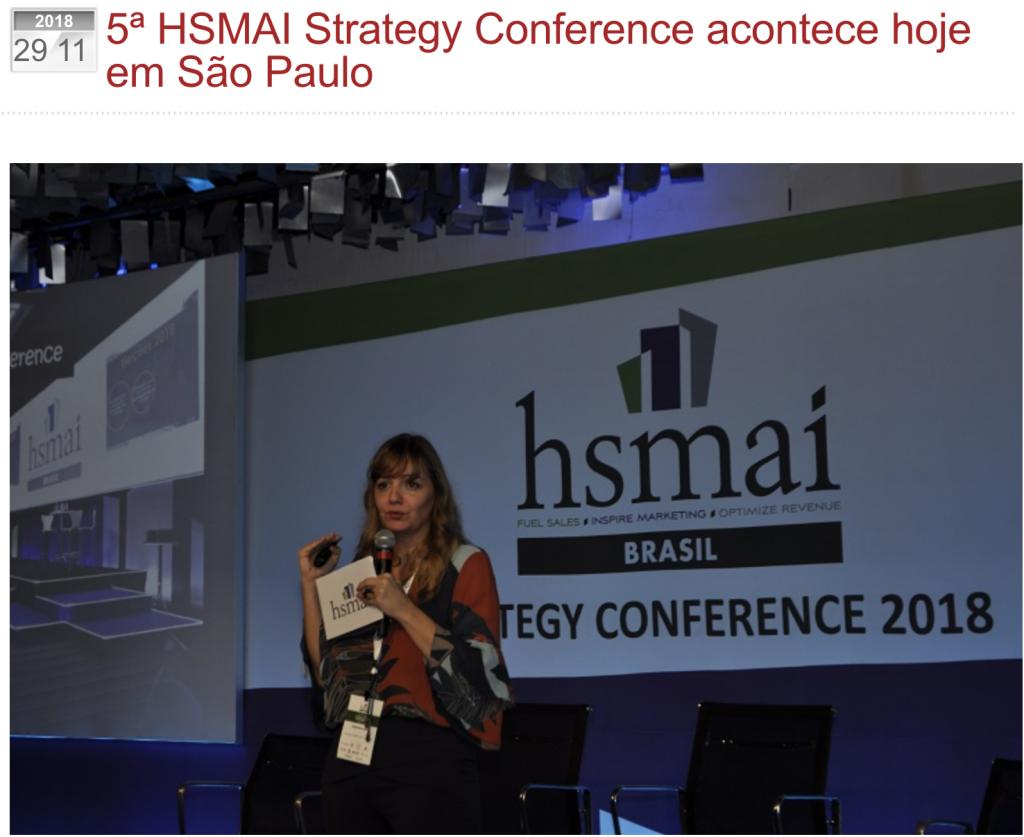 5ª HSMAI Strategy Conference acontece hoje em São Paulo