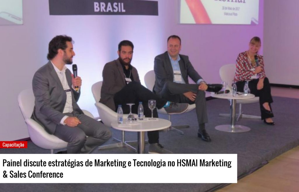 Painel discute estratégias de Marketing e Tecnologia no HSMAI Marketing & Sales Conference