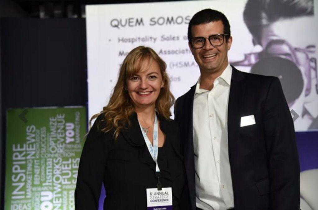 Gabriela Otto (HSMAI e GO Consultoria) e David Pressler (IHG)