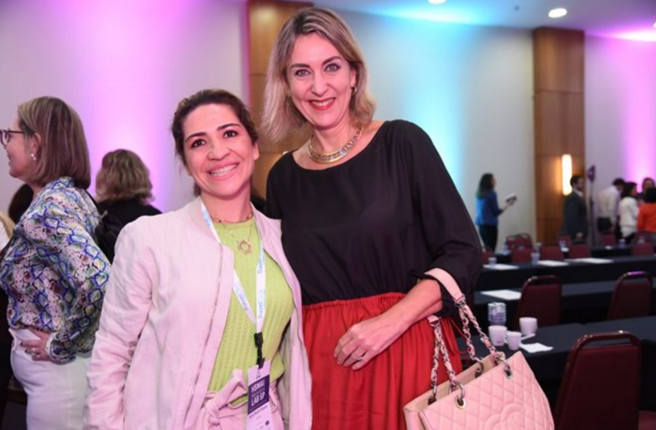 Anna Paula Cesário (Royal Palm) e Luciane Leite (WTM)