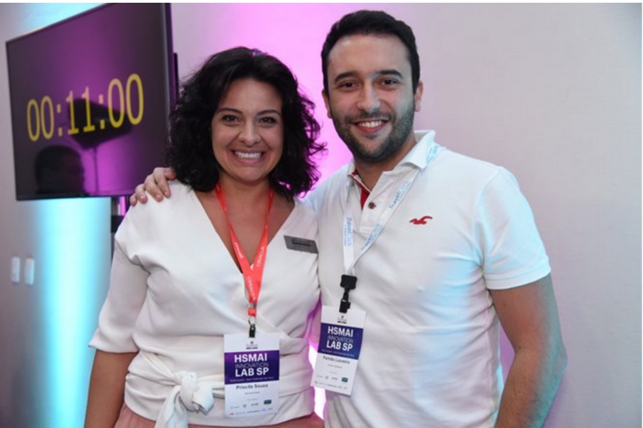 Priscila Souza e Fernão Loureiro