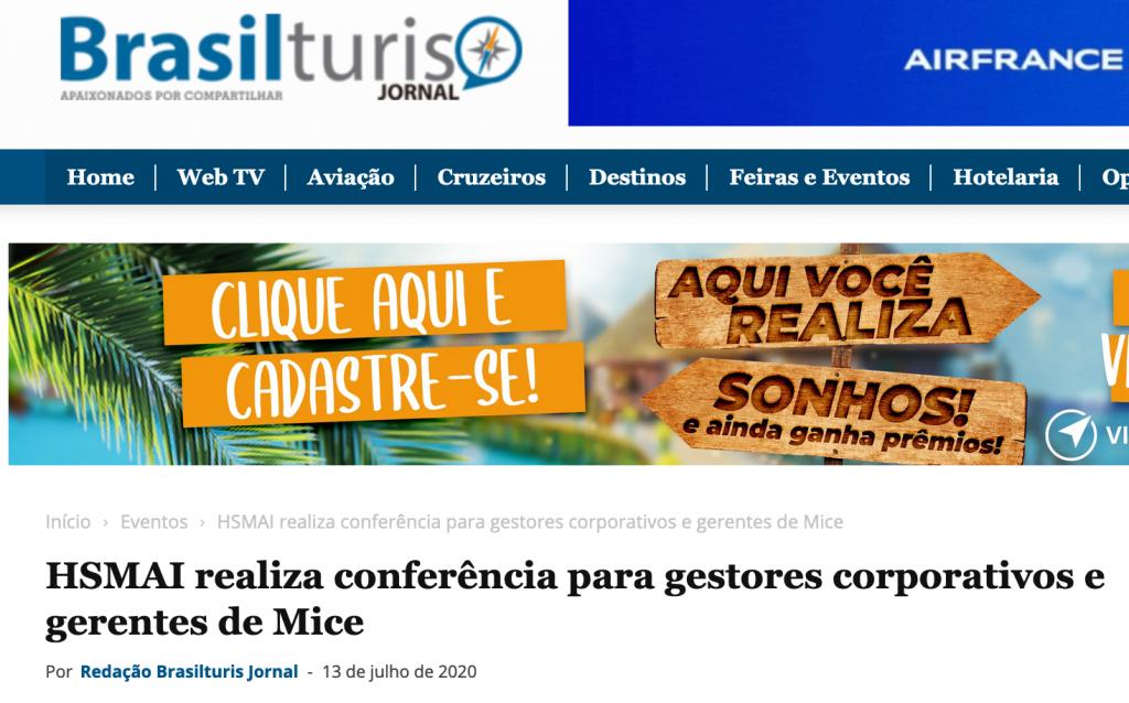 HSMAI realiza conferência para gestores corporativos e gerentes de Mice