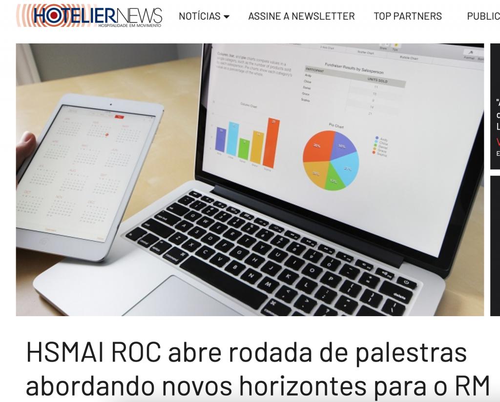 HSMAI ROC abre rodada de palestras abordando novos horizontes para o RM