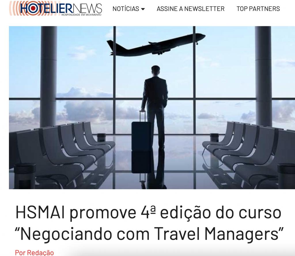 HSMAI promove 4ª edição do curso 'Negociando com Travel Managers'
