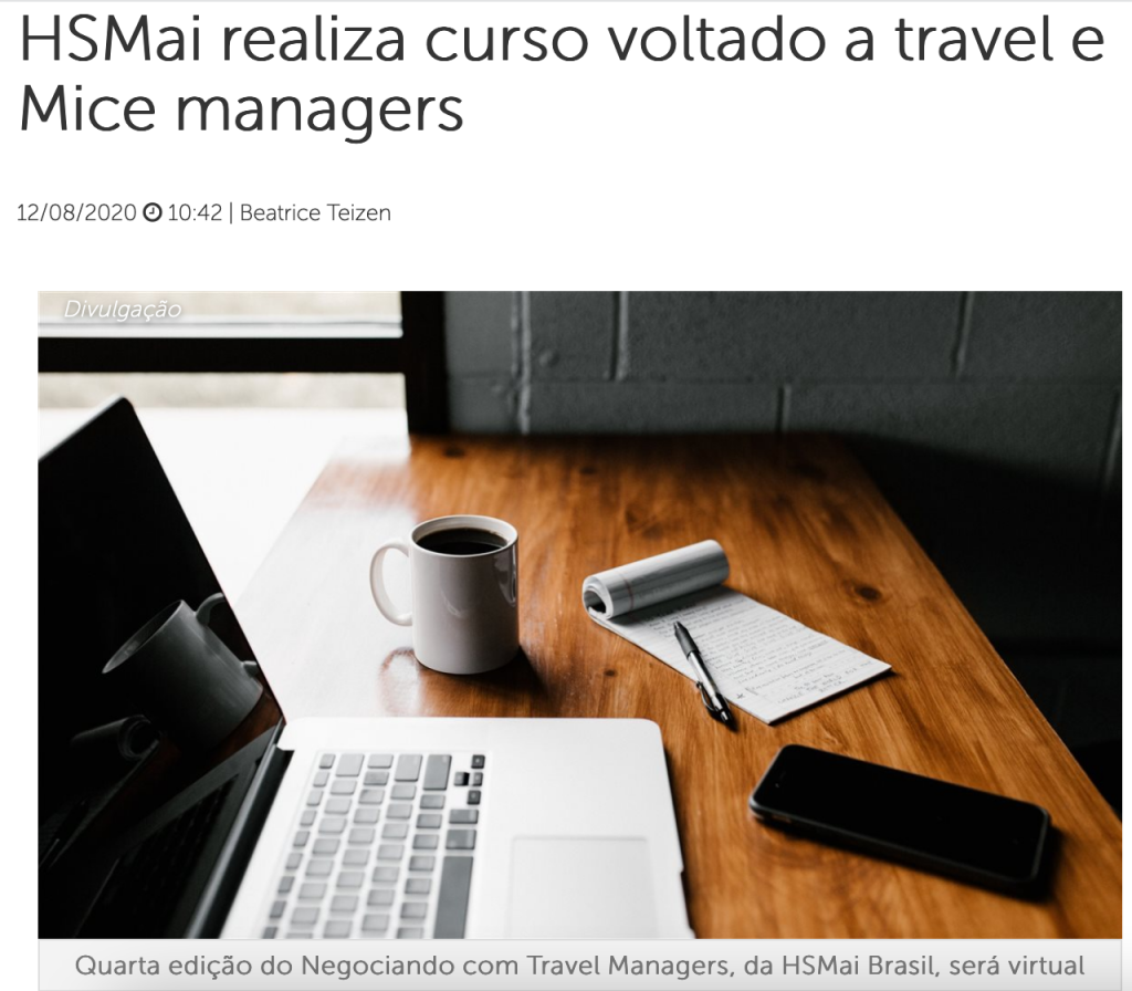 HSMAI realiza curso sobre Travel e MICE Managers