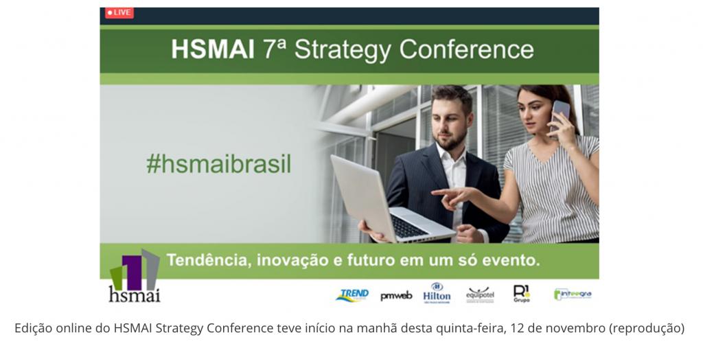 Transformação digital é o primeiro tema da nova edição da HSMAI Strategy Conference