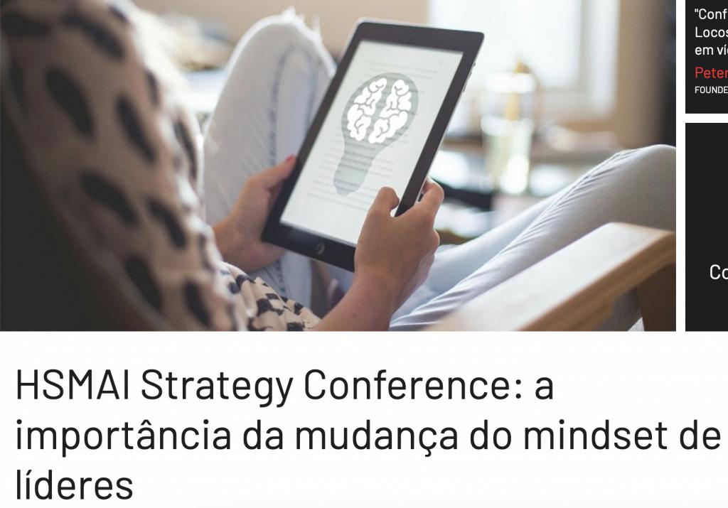 HSMAI Strategy Conferece: importância da mudança do mindset de líderes