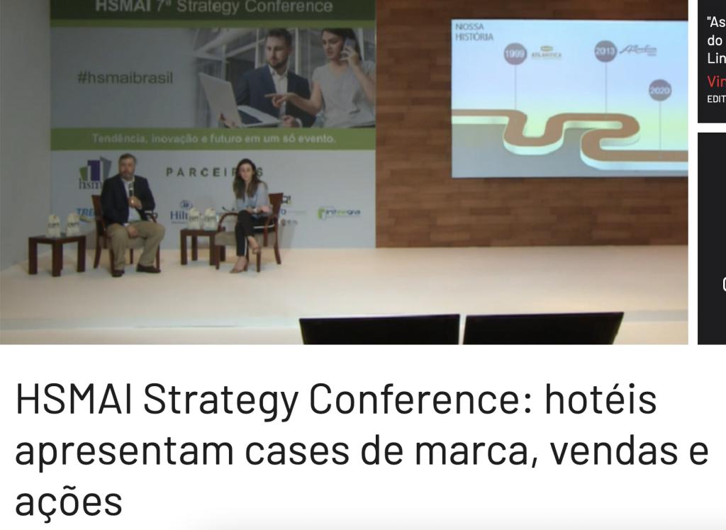 HSMAI Strategy Conference: hotéis apresentam cases de marca, vendas e ações
