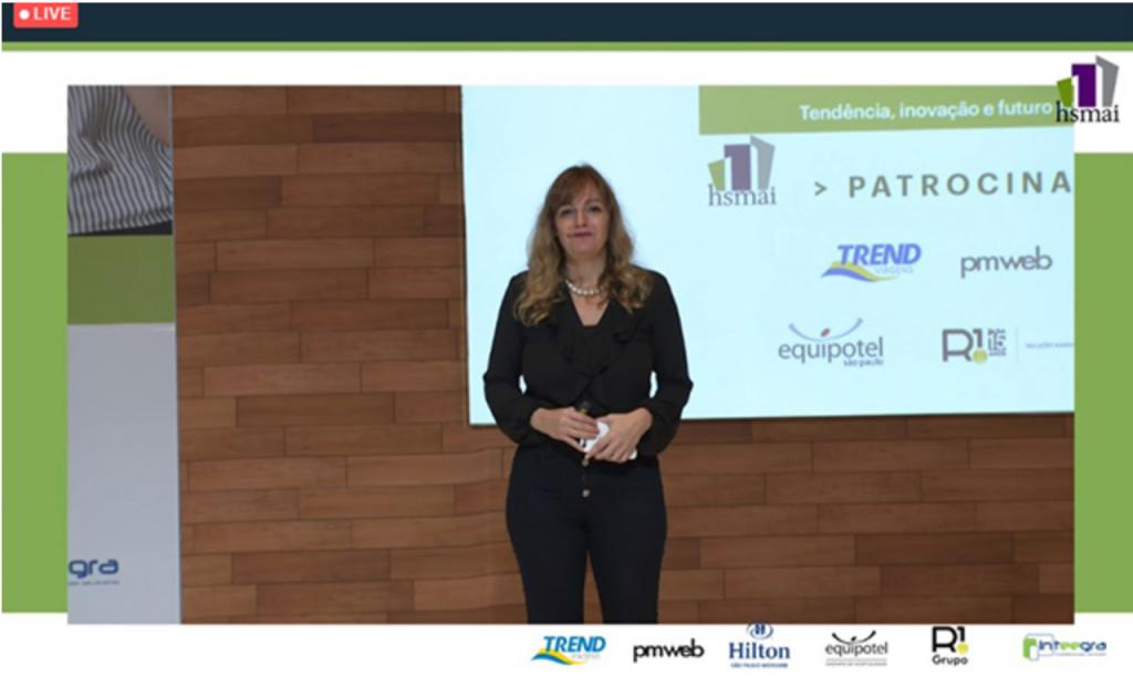 Abertura com Gabriela Otto (presidente HSMAI Brasil)